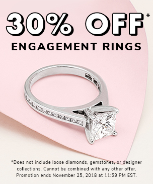 Get a 30% off engagement ring setting*