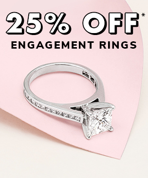 Get a 25% off engagement ring setting*