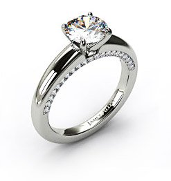 custom solitaire ring - Wedding Ring Design