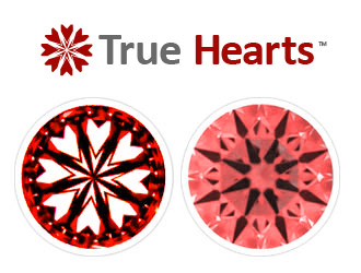 Hearts and Arrows True Hearts