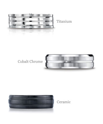 wedding rings metals