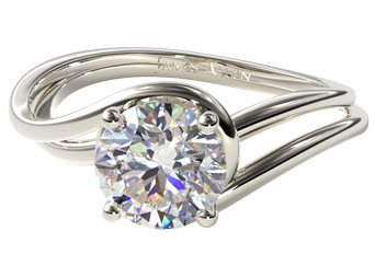 solitaire engagement rings - Wedding Ringscom