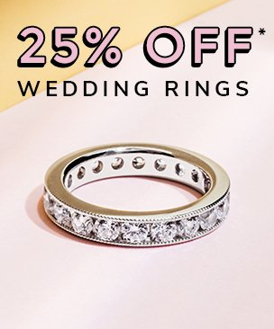 25% off women diamond wedding rings discount available. *Conditions apply.