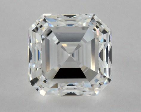 Asscher 1.05, color D, VVS1  Good diamond