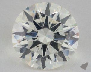 Round 3.02, color J, VS2  Ideal diamond