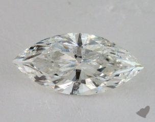 Marquise 4.03, color G, SI2  Very Good diamond