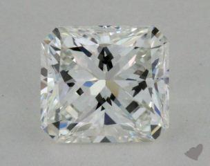 Radiant 1.08, color F, IF  Very Good diamond