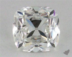 Cushion 1.09, color G, VVS2  Very Good diamond