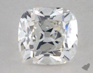 Cushion 2.50, color F, VS2  Very Good diamond