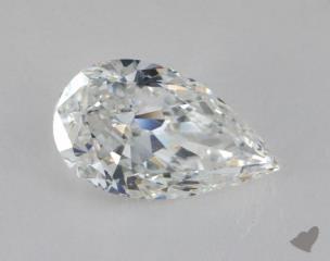 Pear 4.06, color E, IF  Very Good diamond