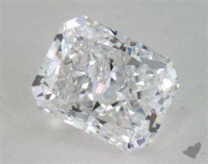 Radiant 2.07, color D, IF  Very Good diamond