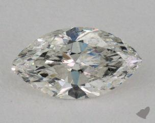 Marquise 1.05, color H, I1  Very Good diamond
