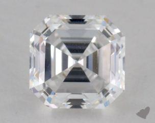 Asscher 1.01, color E, VVS1  Good diamond