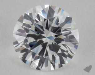 Round 2.13, color I, IF  Very Good diamond