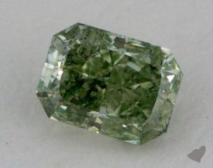 Radiant 0.60, color GN, CO  Fair diamond