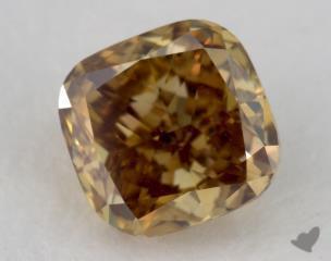 Cushion 0.51, color BN, SI1  Good diamond