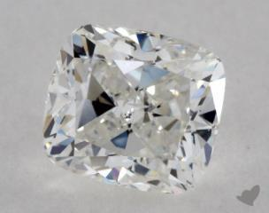 1.72 Carat D-VVS1 Cushion Cut Diamond