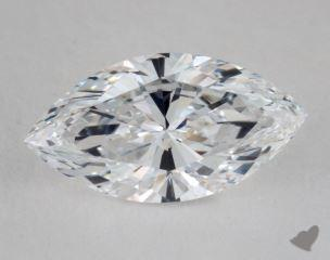 Marquise 2.57, color D, IF  Very Good diamond