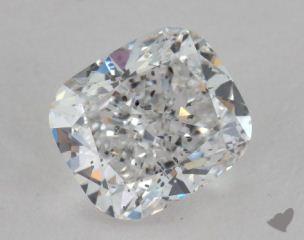 Cushion 2.02, color E, SI2  Good diamond