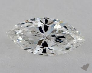 Marquise 1.02, color F, SI1  Very Good diamond