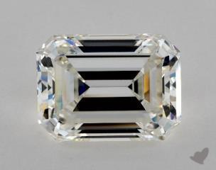 Emerald 10.02, color I, VVS2  Very Good diamond