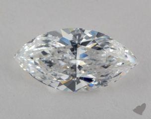 Marquise 5.03, color E, SI2  Very Good diamond