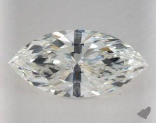 Marquise 5.02, color H, SI2  Very Good diamond