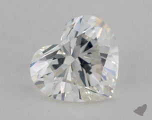 Heart 2.18, color H, SI1  Very Good diamond