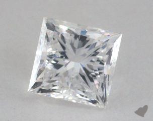 Princess 2.02, color D, SI2  Very Good diamond
