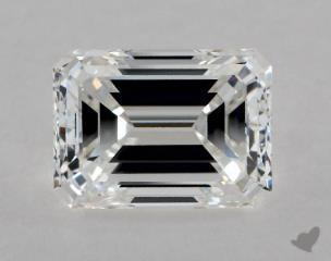 Emerald 1.00, color F, VVS2  Good diamond