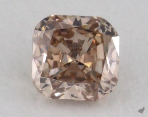 Cushion 0.19, color BN, SI1  Good diamond