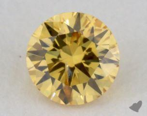 round0.21 Carat YELLOWI1