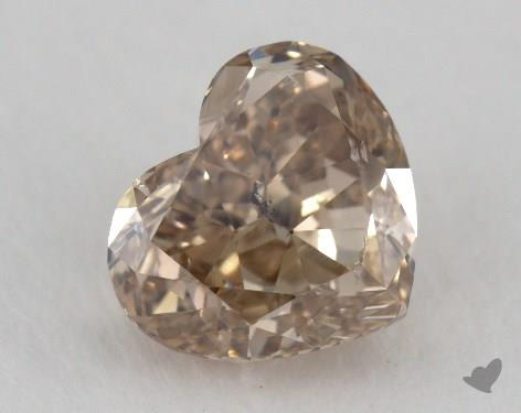 Heart 1.69, color BN, SI2  Very Good diamond