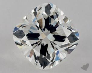 Cushion 0.91, color G, VS2  Ideal diamond