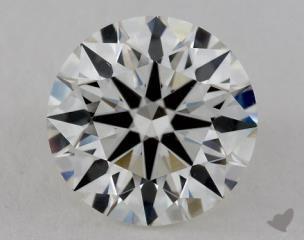 Round 2.23, color H, VS1  Ideal diamond
