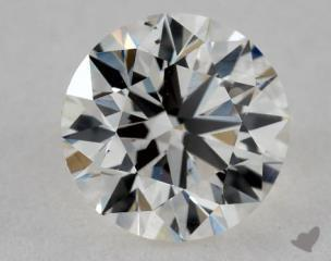 Round 0.81, color I, VS2  Ideal diamond