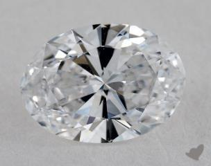 Oval 0.71, color D, VS1  Very Good diamond