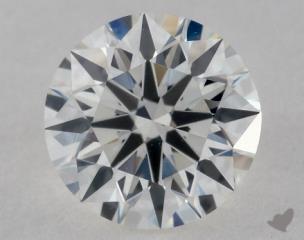 Round 0.77, color H, VS1  Ideal diamond