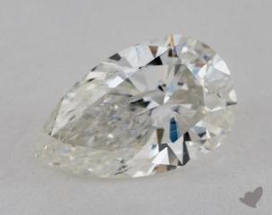 Pear 2.82, color I, I1  Very Good diamond
