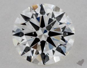 Round 0.71, color H, SI1  Good diamond