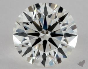 Round 0.91, color I, VVS1  Excellent diamond