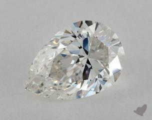 Pear 0.96, color G, VS2  Very Good diamond