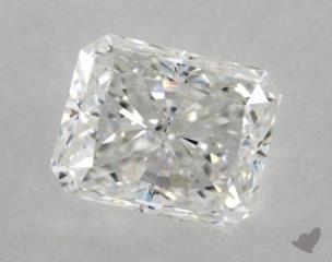 Radiant 1.00, color G, VVS1  Very Good diamond