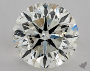 Round 0.91, color J, I1  Very Good diamond