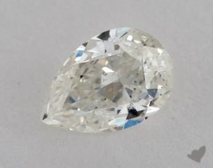 pear0.72 Carat JI1