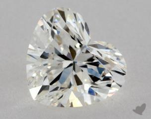 Heart 0.80, color I, VS2  Very Good diamond