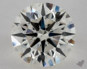 Round 0.81, color J, SI1  Excellent diamond
