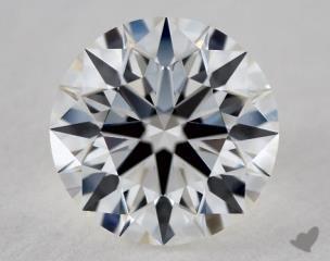 Round 0.81, color G, VS2  Ideal diamond