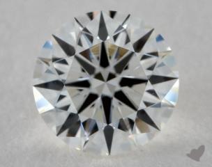 Round 1.11, color G, VS1  Ideal diamond