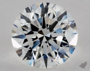 Round 2.44, color G, VS1  Excellent diamond